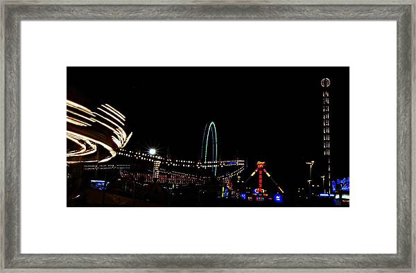 A View Of The Carnival Framed Print