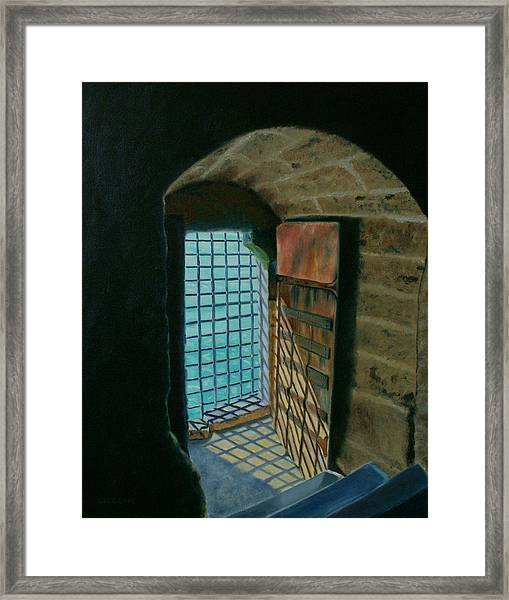 A View To Freedom Framed Print