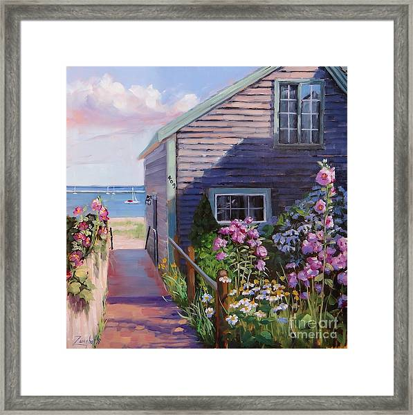 A Visit To P Town Two Framed Print