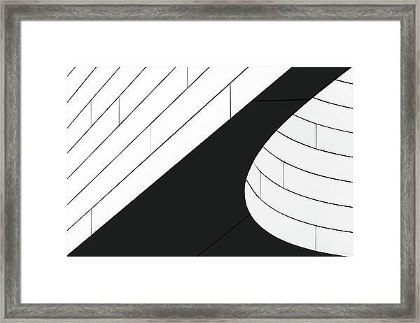 A Wall Detail Framed Print