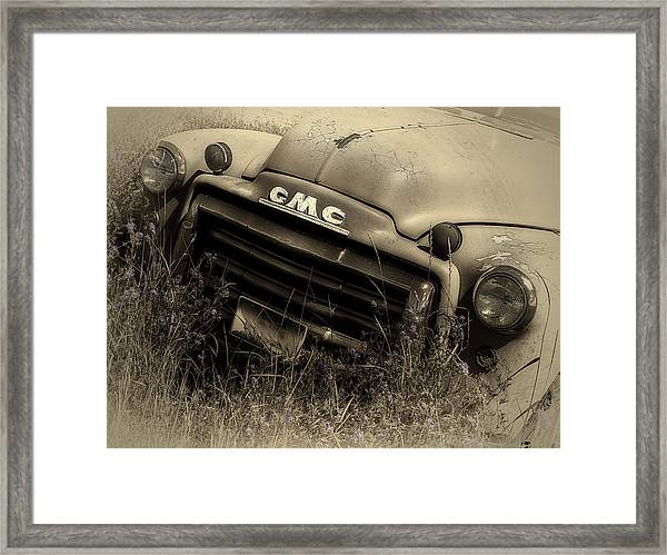 A Weather-beaten Classic Framed Print