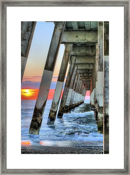 A Wrightsville Beach Morning Framed Print