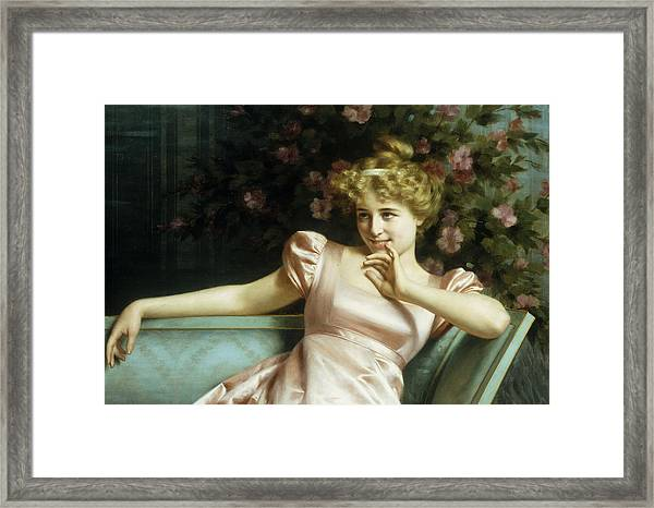 A Young Beauty Framed Print