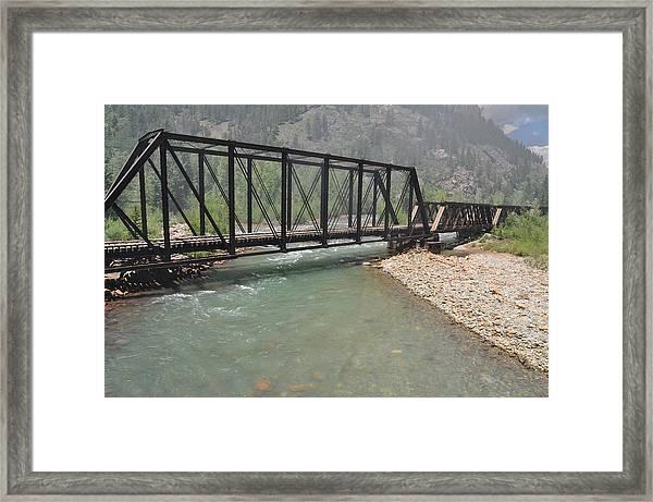 Abandon Train Bridge Photograph by Sheri Barnes