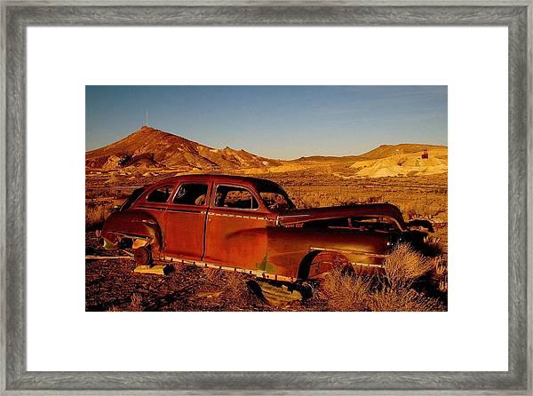 Abandoned And Forgotten Framed Print