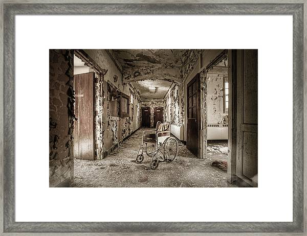 Abandoned Asylums - What Has Become Framed Print
