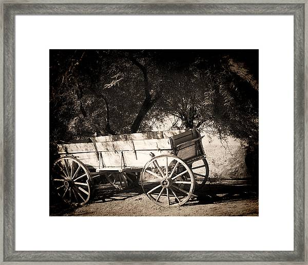 Abandoned Framed Print by Dale Simmons