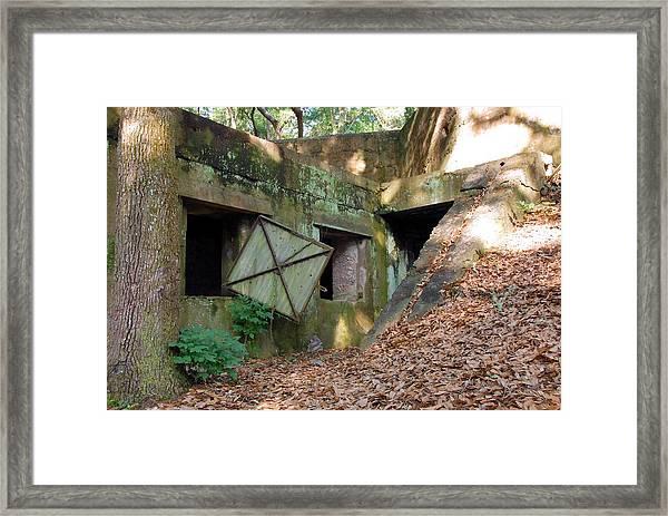 Abandoned Halls Framed Print