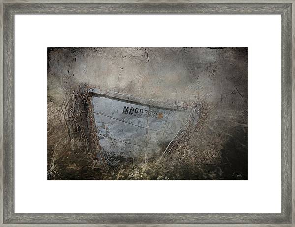 Abandoned On Sugar Island Michigan Framed Print
