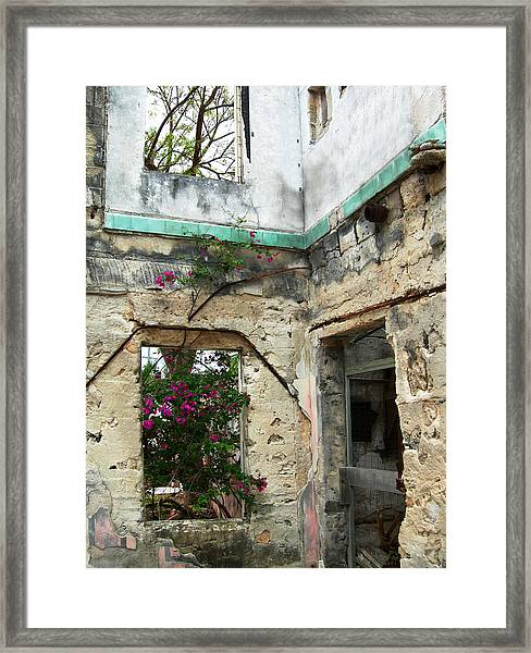 Abandoned Framed Print by Sarah-jane Laubscher