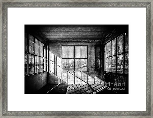 Abandoned Sugar Mill Framed Print