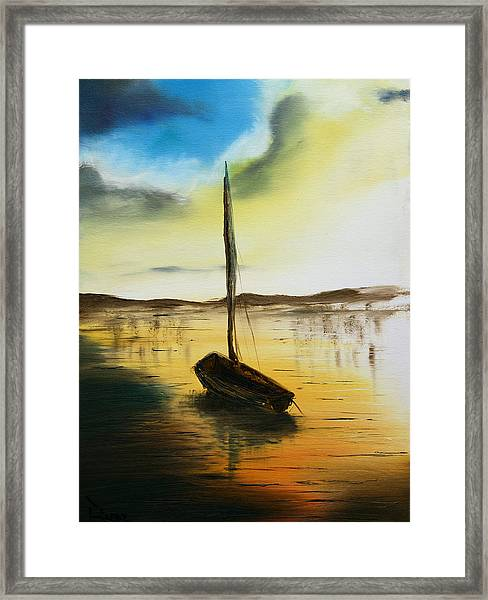 Abandoned Waters Framed Print
