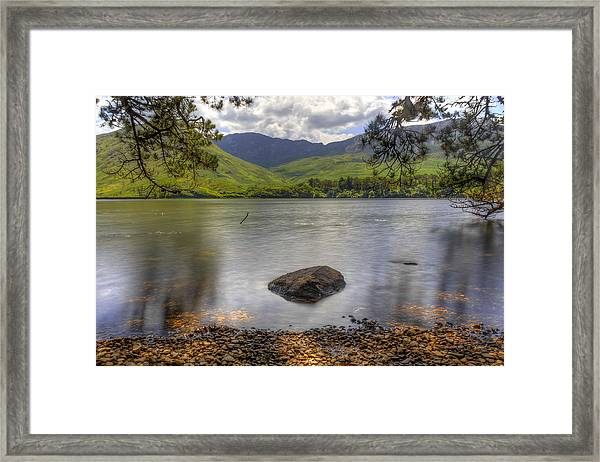 Abbey Lake Framed Print