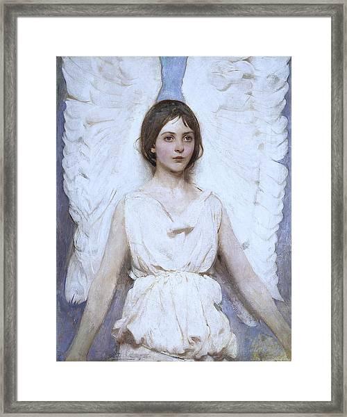 Abbott Handerson Thayer Angel 1886 Framed Print