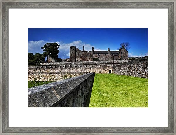 Aberdour Castle Framed Print