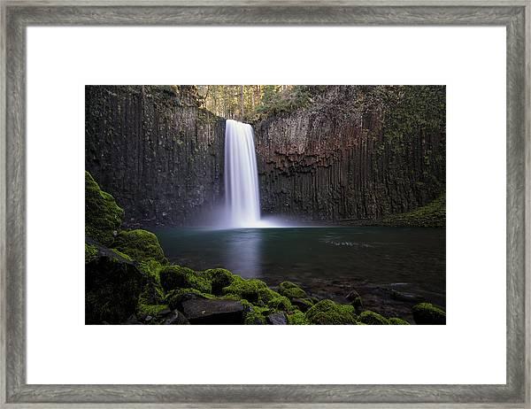 Abiqua Falls Framed Print