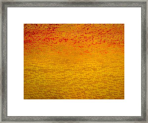About 2500 Tigers Framed Print