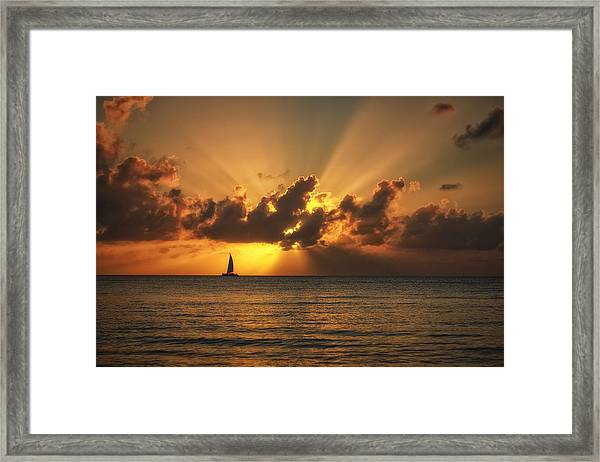 About To Burst Framed Print