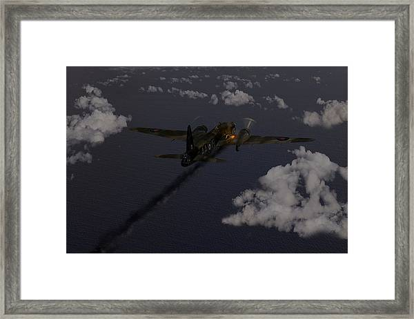Above And Beyond - Jimmy Ward Vc Framed Print