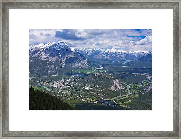 Above Banff Framed Print