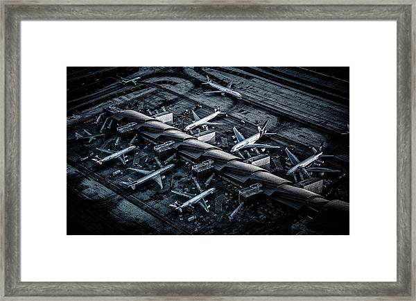 Above Lax Framed Print