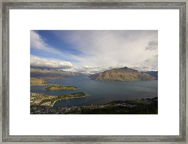 Above Queenstown #2 Framed Print
