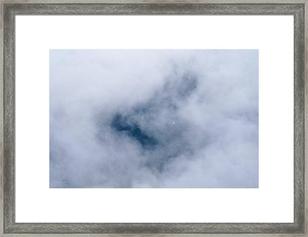 Above The Wind - Lake Geneva Wisconsin Framed Print