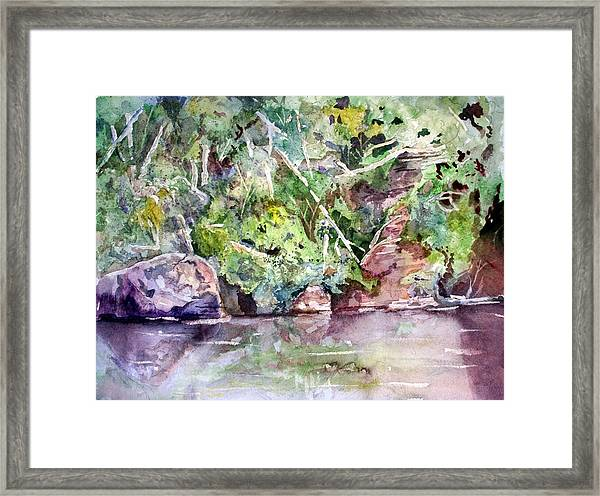Abram's Creek Framed Print