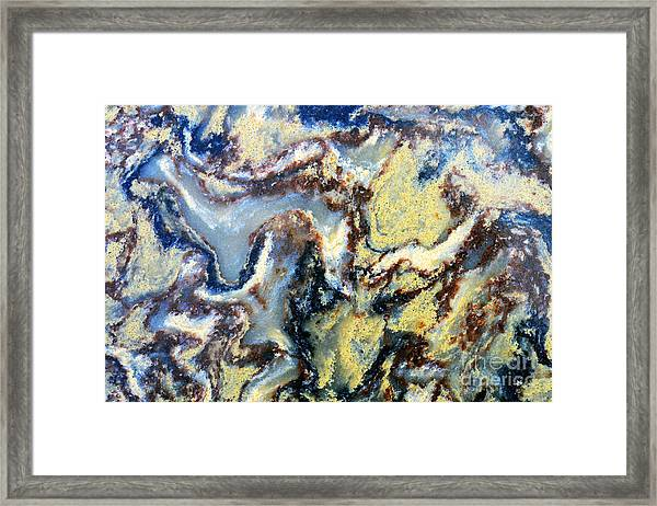 Patterns In Stone - 95 Framed Print