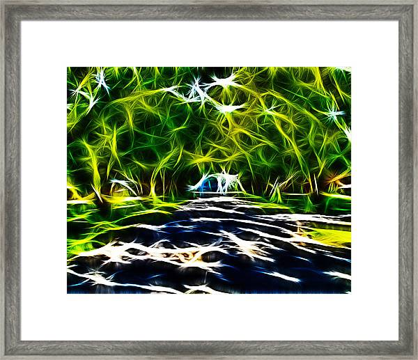 Abstract 011 Framed Print