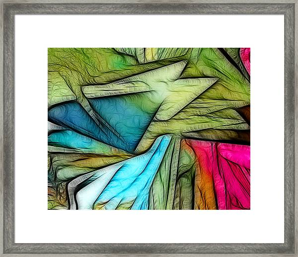 Abstract 013 Framed Print