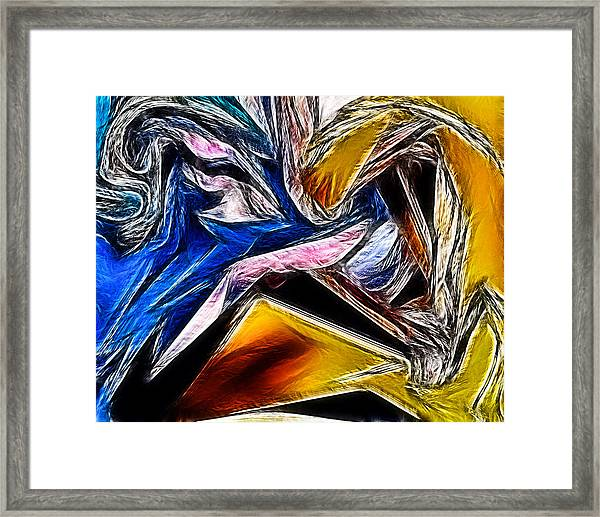 Abstract 016 Framed Print