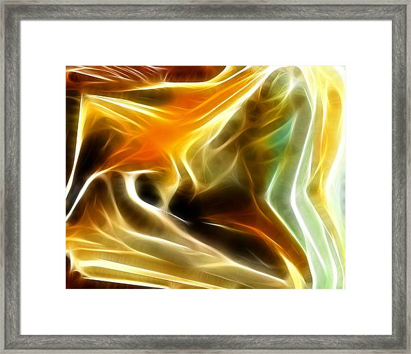 Abstract 019 Framed Print
