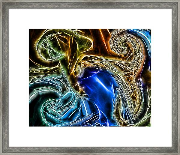 Abstract 020 Framed Print