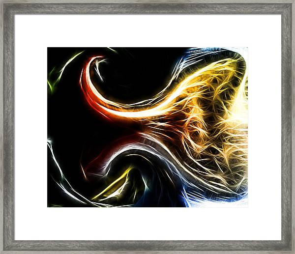 Abstract 021 Framed Print