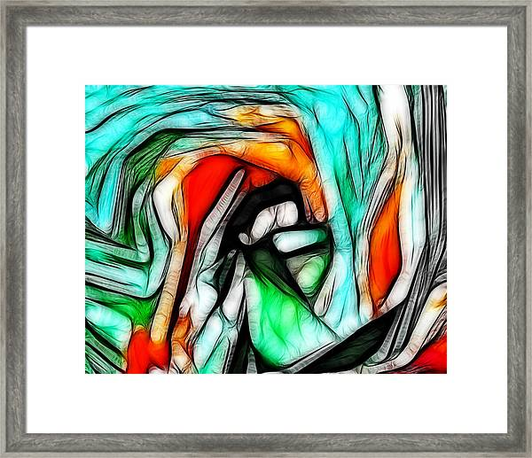 Abstract 023 Framed Print