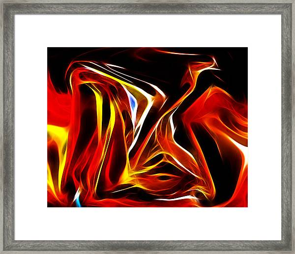 Abstract 027 Framed Print