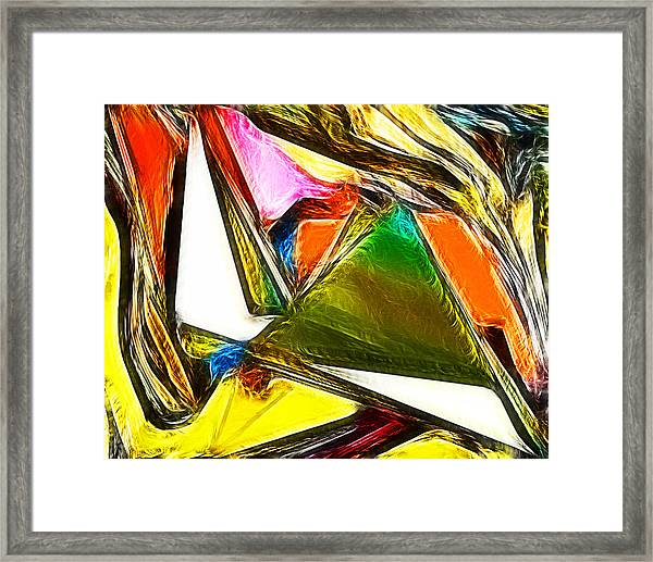 Abstract 028 Framed Print