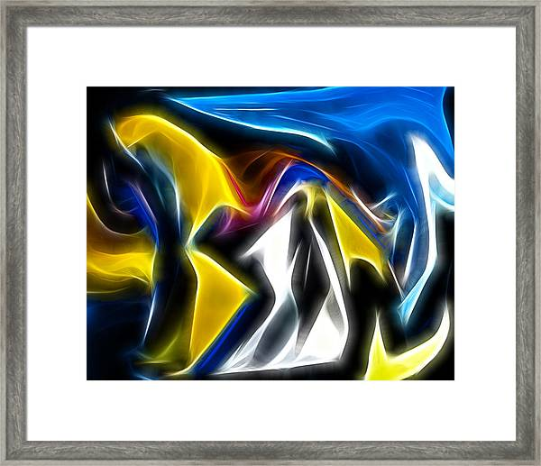 Abstract 029 Framed Print