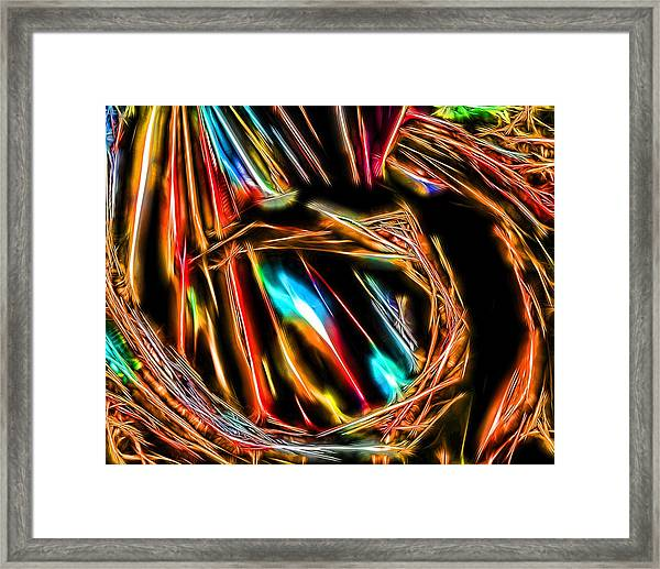 Abstract 032 Framed Print