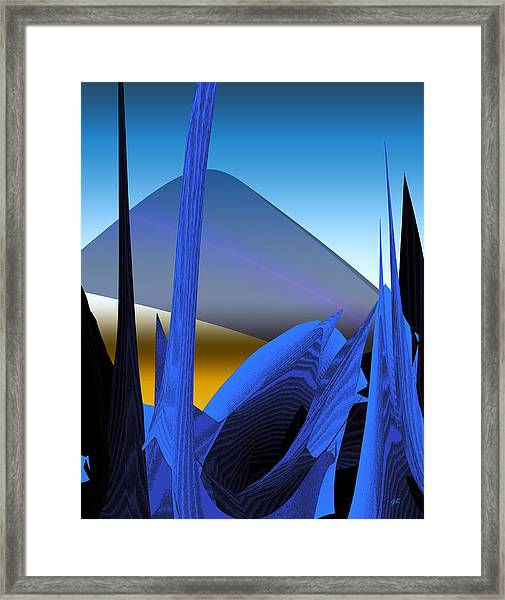 Abstract 200 Framed Print