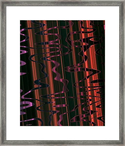 Abstract 327 Framed Print