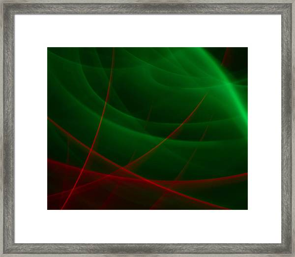 Abstract 34 Framed Print