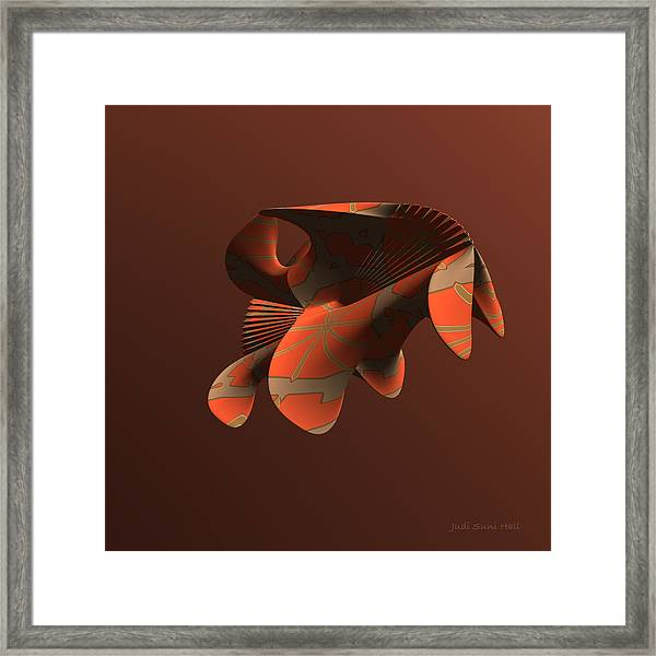Abstract 351 Framed Print