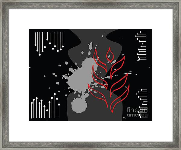 Abstract Background Framed Print by Kmolnar