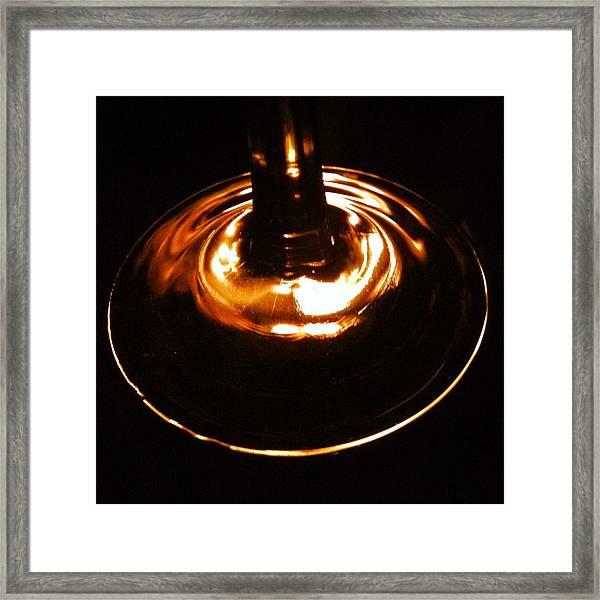 Abstract Circle Framed Print
