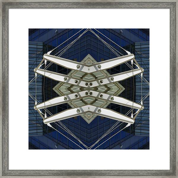 Abstract Construction Framed Print