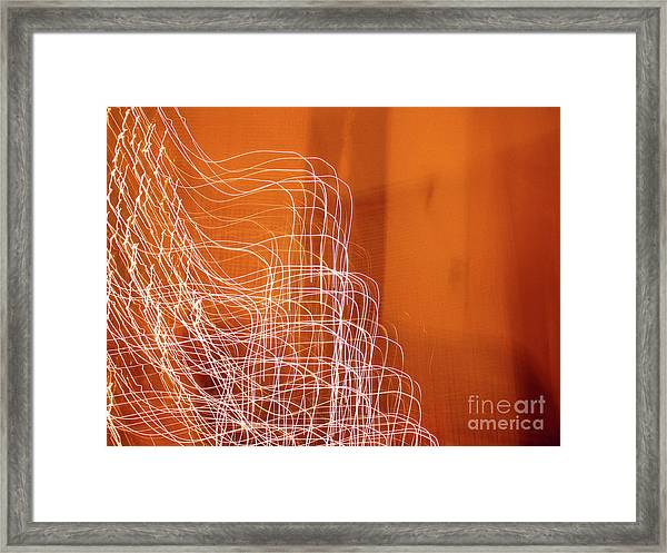 Abstract Energy Framed Print