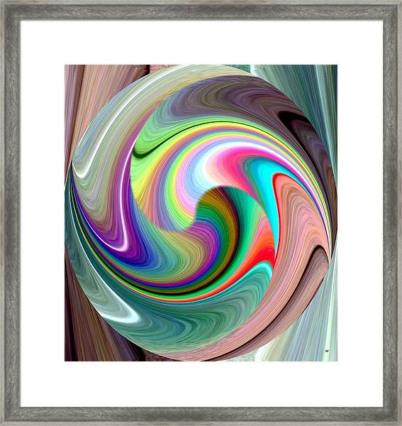 Abstract Fusion 241 Framed Print
