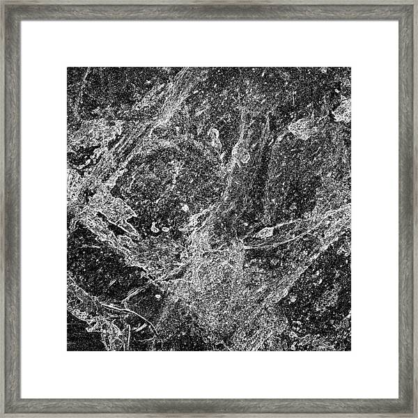 Abstract In B 'n' W 2 Framed Print